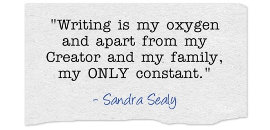 Living In A Writing Whirl Quote