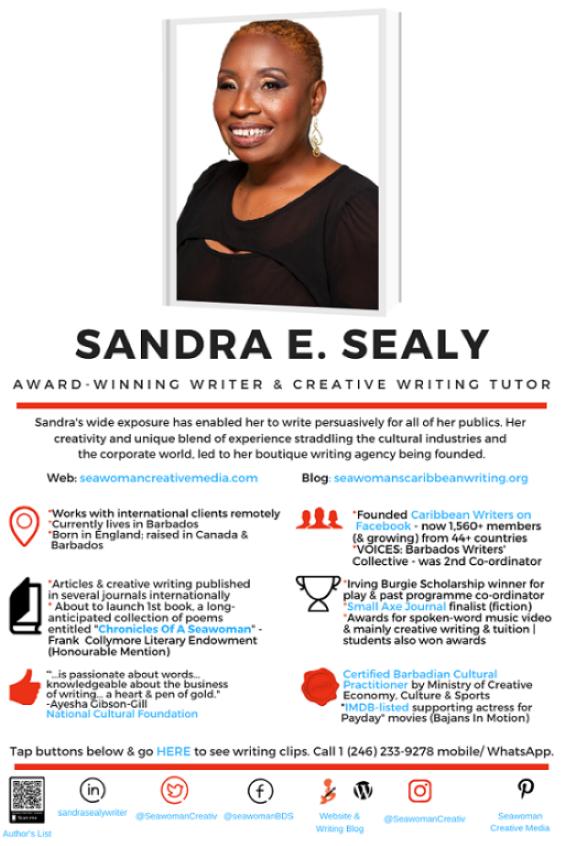 Bio BRIEF - Sandra Sealy1